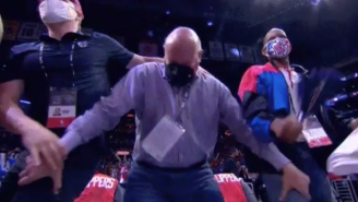 Steve Ballmer's Super Weird Thigh Grab Celebration Had Everyone Uncomfortable