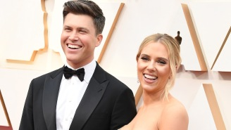 Scarlett Johansson Detailed How Serious Colin Jost Is About Avoiding Marvel Spoilers