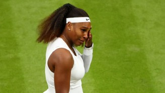 Serena Williams Had To Retire From Her First Round Match At Wimbledon After Slipping On The Court