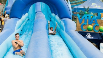 Production On 'Ultimate Slip 'N Slide' Had To Be Put On Hold Due To 'Explosive Diarrhea'