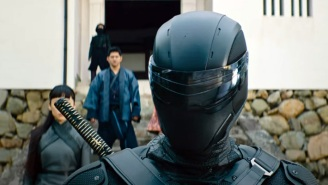 The New 'Snake Eyes' Trailer Takes You 'Behind The Mask' Of The Classic G.I. Joe Ninja