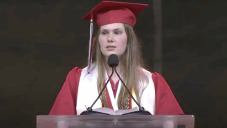 A Texas High School Student Secretly Switched Her Approved Valedictorian Speech To Protest The State's 'Dehumanizing' Abortion Ban