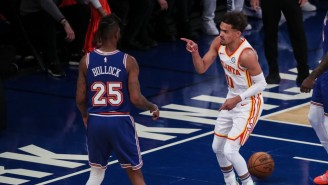 The Hawks Dismantled The Knicks In Game 5 To Advance To The Second Round Against Philly