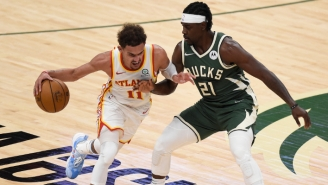 Trae Young's 48-Point Explosion Led The Hawks To A Game 1 Win In Milwaukee