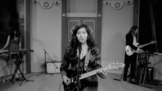 Lucy Dacus Channels Old Hollywood In Her Elegant 'Brando' Performance On 'Kimmel'