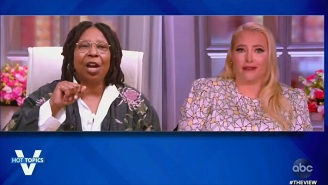 Whoopi Goldberg And Meghan McCain Brought 'The View' Back To Shout-Fest Form After Several Days Of Peace