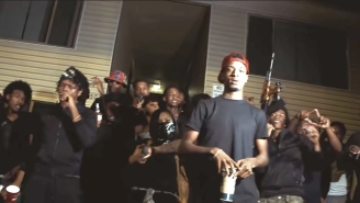 Young Nudy's 'EA' Caused A Floor To Collapse At An Airbnb House Party