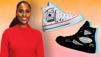 Issa Rae Dips A Toe Into The Sneaker World With A Customizable Converse Collection