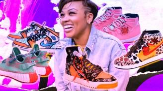 How Katty Customs Merges Art And Sneakers With Bespoke, Custom Kicks