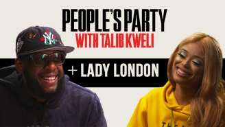 Talib Kweli & Lady London Talk Jean Grae, Sway Freestyle, Chino XL, BLM, HBCUs