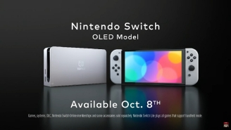 The New Nintendo Switch (OLED Model) Is Finally Here And It's Not What We Expected