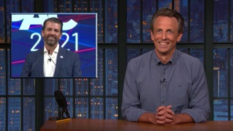 Don Jr. Bombed So, So Hard At CPAC And Seth Meyers Loved Every Second Of It