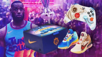 Nike SNKRS Is Dropping A 'Space Jam' LeBron Bundle Featuring An Exclusive Xbox Controller