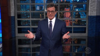 Stephen Colbert Suggests Bill Cosby Join Trump And Bill O'Reilly On Their Upcoming Creepy Old Man Tour