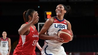 The USA Women Pulled Away From A Scrappy Japan Team For A 17-Point Win