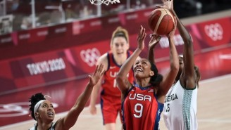 The USA Women Held Off A Tough Nigeria Team For Their 50th Straight Olympic Win