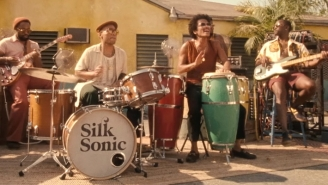 Silk Sonic Keeps The Funk Rolling With Their Inviting New Single, 'Skate'