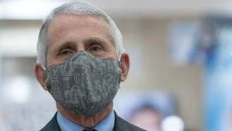 Dr. Fauci Called A Crowd At CPAC Cheering Low Vaccination Rates 'Horrifying' And Stressed 'There's No Reason Not To Get Vaccinated'