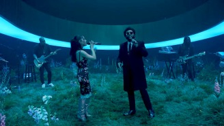 Ariana Grande And The Weeknd Link Up For A Visually Stunning Performance Of 'Off The Table'