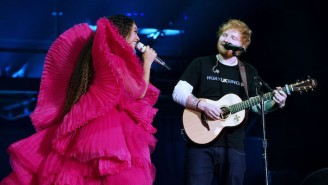 Ed Sheeran Jokes About His And Beyonce's Famously Contrasting Outfits From A 2018 Performance