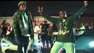 Bino Rideaux And Blxst 'Pop Out' To Race Lamborghinis In The LA Streets In Their New Video