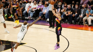 The Suns Rode Scorching Hot Shooting To A 2-0 Series Lead Over The Bucks In The 2021 NBA Finals
