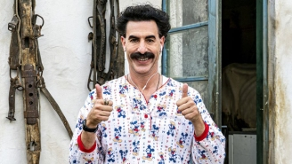Sacha Baron Cohen Has Sued A Cannabis Company For Using His 'Borat' Character On A Billboard