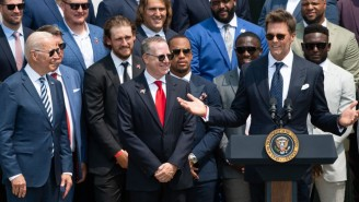 Joe Biden Loved Tom Brady's Standup Comedy Routine At The White House