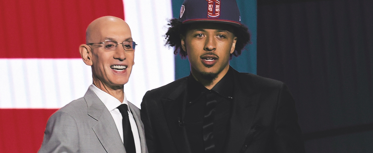No. 1 Pick Cade Cunningham Gives Pistons Fans A Long-Awaited Ray Of Hope