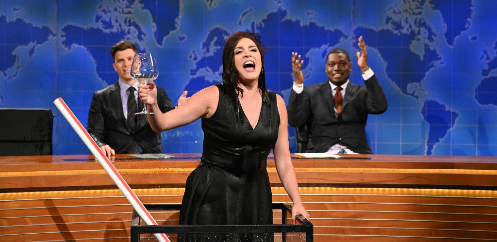 Cecily Strong On Her Wine-Soaked 'SNL' Season Finale Performance: 'If I Do Leave, It Looks Great'