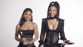 Fans Compare Halle Bailey To Solange After She Fiercely Defends Her Sister Chloe From An Online Troll