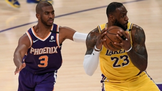 LeBron James Is Watching The Finals And Calls Chris Paul His 'Horse In The Race'
