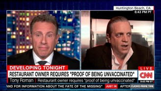 Chris Cuomo Called Out The 'Idiot' Restaurant Owner Who Only Allows Unvaccinated Customers In A Bizarre Interview