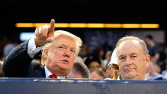 Apparently Trump and Bill O'Reilly Are Having A Hard Time Getting People To Pay To Watch Them Bloviate Together On Stage