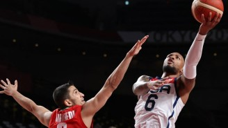 The USA Men Took Their Frustrations Out On Iran In A 54-Point Win