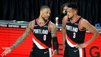 Damian Lillard And CJ McCollum Laughed At A Report Dame Would Give Up Money To Leave Portland