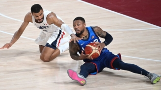 Basketball Fans Gave Team USA Its Second L Of The Day After It Got Beat By France At The Olympics
