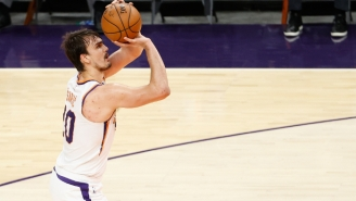 Dario Saric's MRI Revealed He Has A Torn ACL In His Right Knee