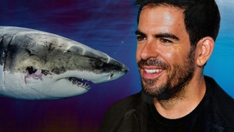 Eli Roth On 'Fin' (His Real-Life Horror/Shark-Week Movie On Discovery+), And How He Embraced His Biggest Fear