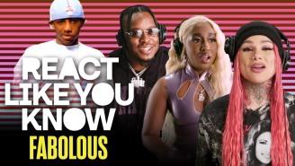 "Artists React To Fabolous & Tamia's ""So Into You"" Video"