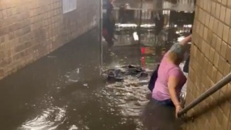 Tropical Storm Elsa Caused Horrifying Flooding In New York City's Subways That Went Viral On Twitter