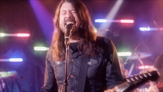 Foo Fighters Get In A Disco Groove In A Video For Their Bee Gees Cover 'You Should Be Dancing'
