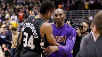 Giannis Antetokounmpo Fulfilled Kobe Bryant's Challenge To Win A Ring, And Pau Gasol Couldn't Be Happier
