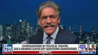 Geraldo Rivera Straight-Up Accused Hannity Of 'Gaslighting' America About The Jan. 6 Insurrection