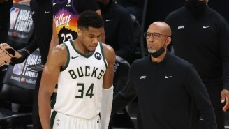 Giannis Antetokounmpo Praised Monty Williams For Visiting The Bucks And Told Him 'We Might Run It Back Next Year'