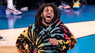 J. Cole Teams Up With NBA Superstar Carmelo Anthony To Dominate Their Pickup Game