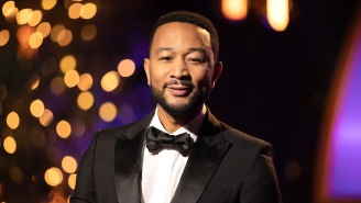 A Group Featuring John Legend And Keith Urban Sings 'Imagine' At The 2020 Olympics Opening Ceremony