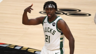 Jrue Holiday Left Bucks-Nets With A Heel Contusion And Won't Return