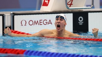 Chase Kalisz Won The First Gold Medal For Team USA In The Men's 400m Individual Medley