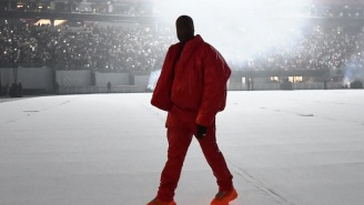 Kanye West Is In Fact Hunkered Down At Atlanta's Mercedes-Benz Stadium To Finish 'Donda'